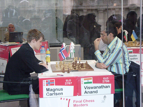 carlsen anand